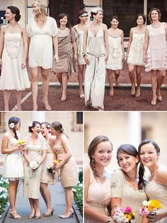 Bridesmaids Blog Tour + Stylish Bridesmaids Dresses | Green Wedding Shoes Wedding Blog | Wedding Trends for Stylish + Creative Brides