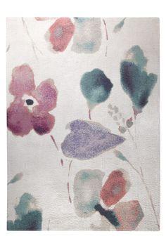 Raumbild von Designteppich Dream Flower ESP-0204-06 in weiss