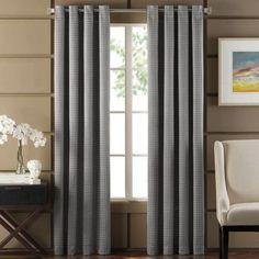 Newton Room-Darkening Grommet Top Window Curtain Panel - BedBathandBeyond.com