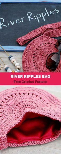 """The location where building and construction meets style, beaded crochet is the act of using beads to decorate crocheted products. """"Crochet"""" is derived fro Bag Crochet, Crochet Purse Patterns, Crochet Patterns For Beginners, Crochet Purses, Love Crochet, Crochet Crafts, Crochet Clothes, Crochet Stitches, Modern Crochet"""