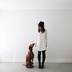 Vizsla, the velcro dog. @ameliahannah on instagram.