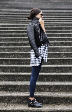 Loving this fall and winter layering style