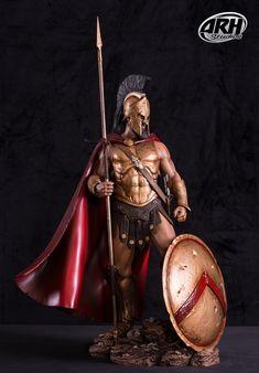 Ancient Sparta, Gladiator Tattoo, Warrior Concept Art, Spartan Tattoo, Ancient Greek Sculpture, Ancient Armor, Roman Warriors, Greek Warrior, Spartan Warrior