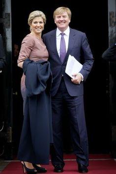 King Willem-Alexander and Queen Maxima Attend Erasmusprijs 2013 | NEWMYROYALS & HOLLYWOOD FASHION