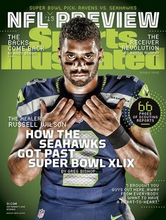 For the 2nd time Russell Wilson makes the cover of SI's NFL preview issue.