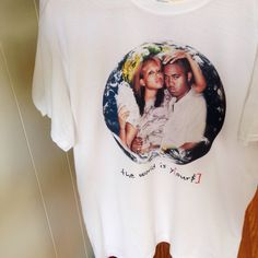 Image of The World Is Y[ours] Tee
