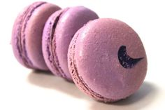 Ube French Macarons by TC Paris:  Purple Yam or Ube is a root, most commonly used in Asian desserts.  Very similar in flavor and texture to the Red Bean paste.