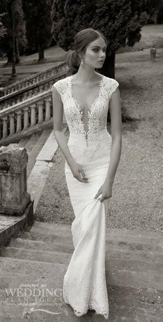 Beautiful Cap Sleeves Wedding Dress