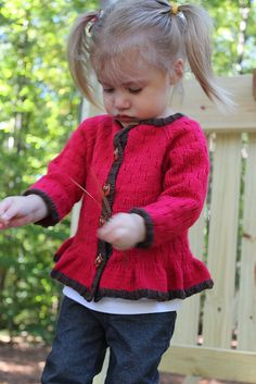Ravelry: Little Dove Cardigan pattern by Flora and Fauna knitwear designs