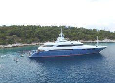 Luxury O'NEIRO - Motor Yacht Check more at http://eastmedyachting.co.uk/yachts/oneiro-motor-yacht/