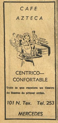 Cafe Azteca, The Mercedes News-Tribune and The Enterprise (Mercedes, Tex.), September 7, 1950