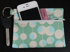 Keychain Wallet in Amy Butler Martini by stitch248 on Etsy, $12.00