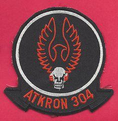 Va-304 Firebirds Patch Us Navy Attack Squadron A-6 Intruder Atkron 304