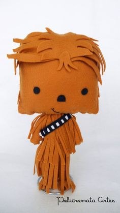 Discover recipes, home ideas, style inspiration and other ideas to try. Chewbacca, Aniversario Star Wars, Darth Vader, Star Wars Party, Felt Art, Felt Ornaments, 4th Birthday, Harry Potter, Nerd