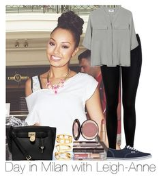"""""""Day In Milan With Leigh-Anne"""" by hazzgirl03 ❤ liked on Polyvore"""