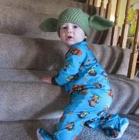 Yoda Hat: Newborn ... by SarahHorrocks | Crocheting Pattern