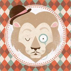 Uncommon Creatures - Lion Art Print