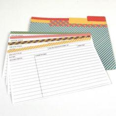 printable blank recipe cards