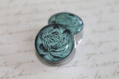 Double Sided Blue Roses