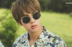 Jin BTS Summer Package 2017 Source: Twitter @chimtae_D