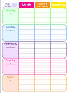 Rainbow Teacher Planner for ANY year by The Inspired Soul Free Lesson Planner, Teacher Planner Free, Kids Planner, Student Planner, Planner Pages, Printable Planner, Teacher Lesson Planner, Teacher Binder Organization, Preschool Curriculum