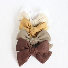 Ella | Medium Hand Tied Bow - Shades