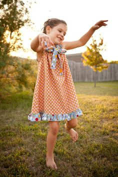 Emmaloop has the fun and funky frocks for little girls...
