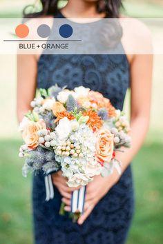 10 palette per un matrimonio autunnale