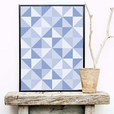 poster serenity triangles