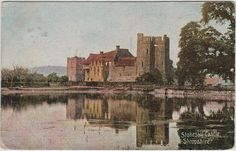 Stokesay Castle (vintage postcard, c.1905) | Flickr - Photo Sharing!