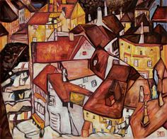 Egon Schiele: Crescent of Houses