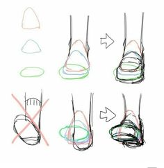 Anatomy Drawing Tutorial Perspective on feet and shoes drawing reference Drawing Reference Poses, Drawing Poses, Drawing Tips, Drawing Lessons, Drawing Ideas, Anatomy Reference, Hand Reference, Drawing Stuff, Sketch Drawing