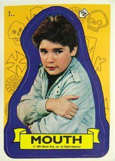 Mouth (Corey Feldman), The Goonies (1985)