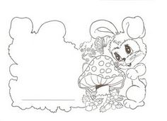 ♥ProfªAnanda♥: Cartões de Páscoa para Colorir e Recortar
