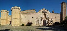 Tarragona Monasterio de Poblet - Puerta Real