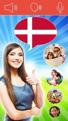 Speak Danish FREE - Interactive Conversation Course. Appen er gratis.