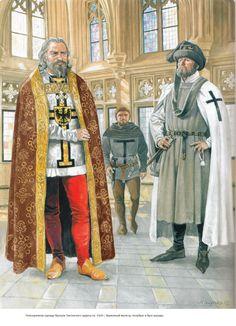 Knights of the Teutonic Order by Marek Szyszko - probably in Marienburg (Malbork)