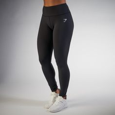 Give your legs their most comfortable workout yet. The Women's Dreamy Leggings are so soft; they almost feel unreal.-Hidden pocket along waistband-Printed logo-