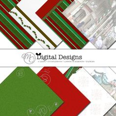 A Disney Main Street Christmas Digital Scrapbooking by MCDigitaldesigns