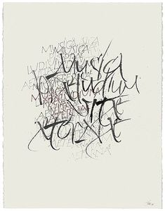 The Berlin Calligraphy Collection: Gottfried Pott