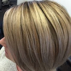 Lovely #blonde color. #Redken #chromatics and shades gloss.