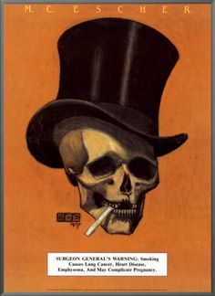 """Skull with Cigarette""=>"
