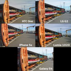 What's the best smartphone for photographers? LG G2; iPhone 5s; Lumia 1020; HTC One; Galaxy S4; Side-by-side comparisons.