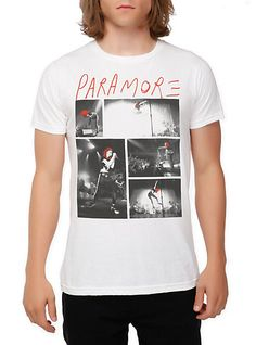 Paramore Hayley Slim-Fit T-Shirt | Hot Topic