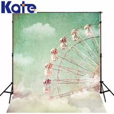 Find More Background Information about 5ft*6.5ft(150cm*200cm) Photography Backdrops Ferris Wheel For Children Background Photographic Studio BackgroundS 1387,High Quality wheel light,China wheel emblem Suppliers, Cheap wheel desk from Art photography Background on Aliexpress.com