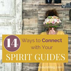 Ever wondered how to connect with your Spirit Guides? It's fun, free, and they can help your life be way better, so why not give it a try?