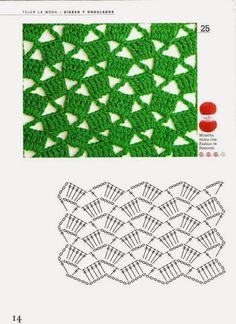 Fabulous Crochet a Little Black Crochet Dress Ideas. Georgeous Crochet a Little Black Crochet Dress Ideas. Crochet Motifs, Crochet Diagram, Crochet Stitches Patterns, Crochet Chart, Crochet Squares, Crochet Doilies, Stitch Patterns, Knitting Patterns, Blanket Crochet