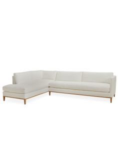 Nantucket Sectional Modern Slipcovered Sofa In Multiple Colors Lee Industries