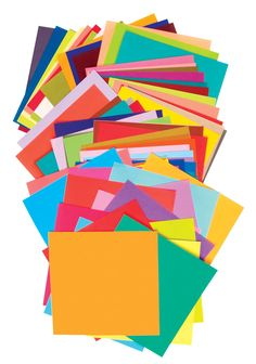 Aitoh Square Origami Paper, 5-7/8 X 5-7/8 in, Assorted Color, Pack of 100 #mycdwishlist