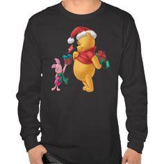 Piglet Gifting Pooh   Disney Christmas shirts